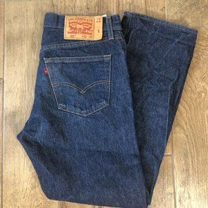 Levi Strauss & Co 501 Blues Button Fly Red Tag 32